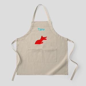 Taro Custom Name Dinosaur T-Rex Designer Apron