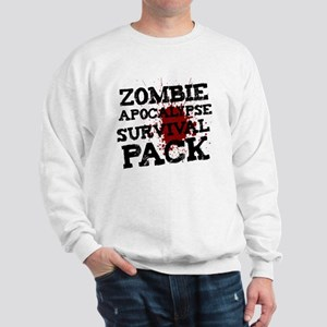 Zombie Apocalypse Survival Pack Sweatshirt