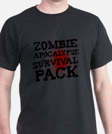 Zombie Apocalypse Survival Pack T-Shirt