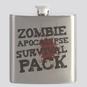 Zombie Apocalypse Survival Pack Flask