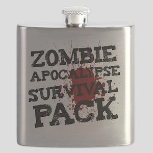 Zombie Apocalypse Survival Pack Flask