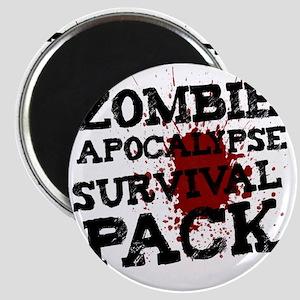 Zombie Apocalypse Survival Pack Magnet