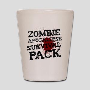 Zombie Apocalypse Survival Pack Shot Glass