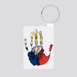 PINOY HAND Aluminum Photo Keychain