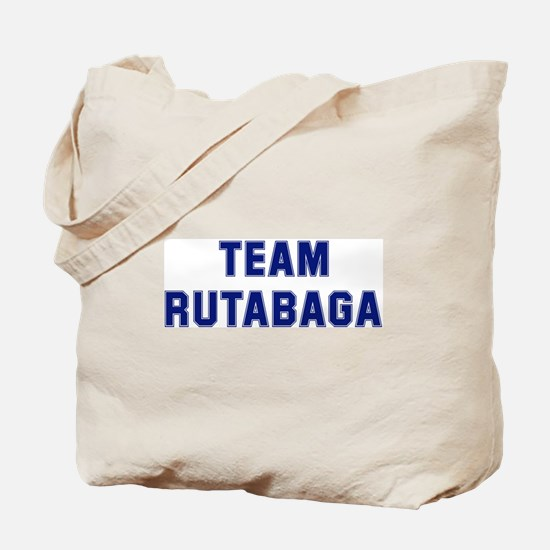 Team RUTABAGA Tote Bag