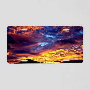 Sunrise 13X9 Aluminum License Plate