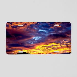 Sunrise 12X9 Aluminum License Plate