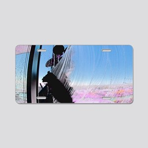 window washer 001 Aluminum License Plate