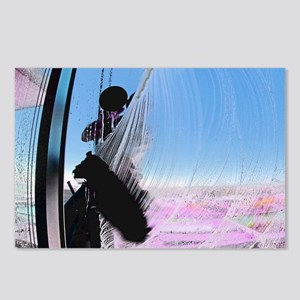 window washer 001 Postcards (Package of 8)