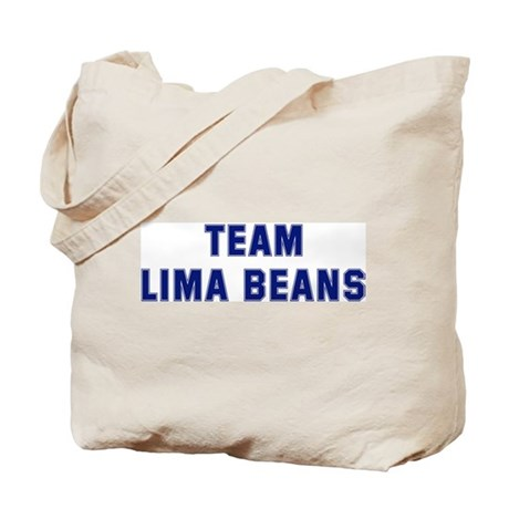 Team LIMA BEANS Tote Bag