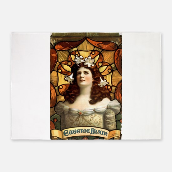 Eugenie Blair - US Printing - 1899 5'x7'Area Rug
