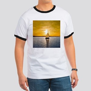 Sailing into the sunset Ringer T