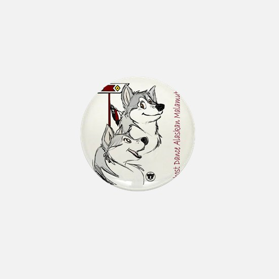 Ghost Dance logo Mini Button