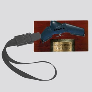 Drone Trophy Large Luggage Tag