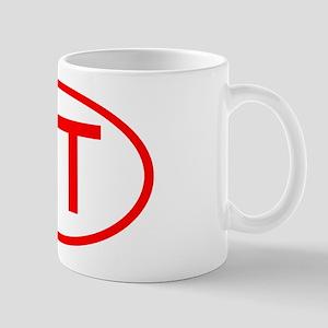 XT Oval (Red) Mug