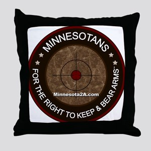 MNRKBA window sticker Throw Pillow