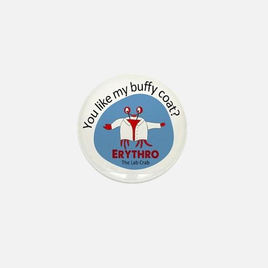 Crab in buffy coat Mini Button