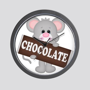 Chocolate Mouse Wall Clock