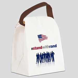 #Stand With Rand Canvas Lunch Bag