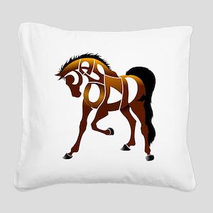 Jasper Square Canvas Pillow