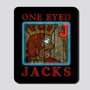 Twin Peaks One Eyed Jacks Mousepad