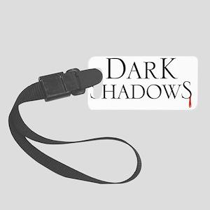 Dark Shadows Blood Drip Small Luggage Tag