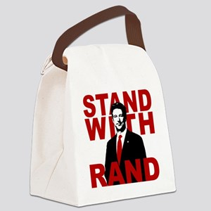 Stand With Rand Canvas Lunch Bag