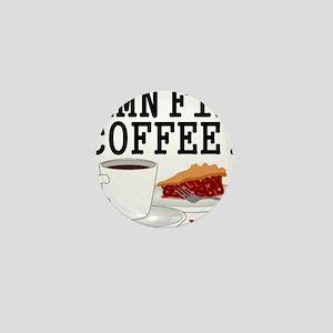 Twin Peaks Damn Fine Coffee Mini Button