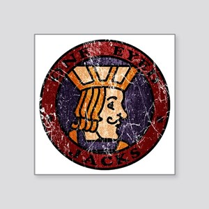 "Twin Peaks One Eyed Jacks Square Sticker 3"" x 3"""