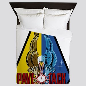 F-111 Pave Tack Queen Duvet