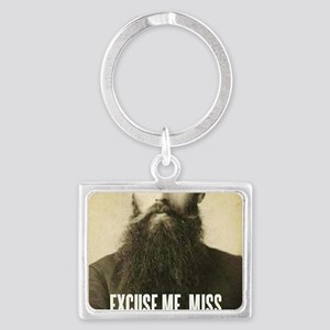 Excuse me, Miss Landscape Keychain