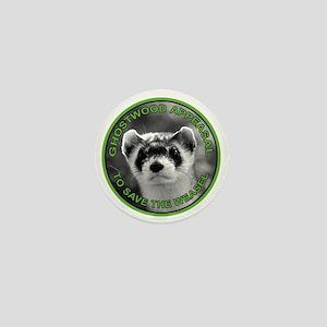 Pine Weasel Twin Peaks Mini Button
