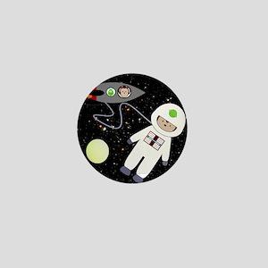 Monkeys In Space Aliens Space Walk Mini Button