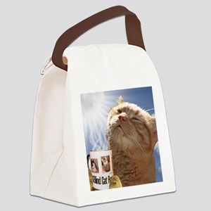 Candy Canvas Lunch Bag