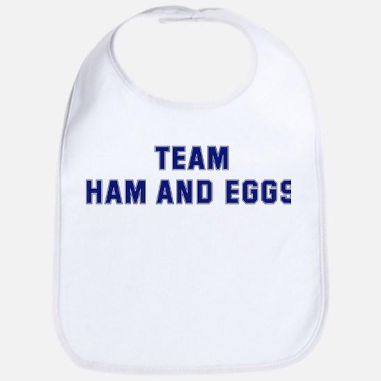 Team HAM AND EGGS Bib