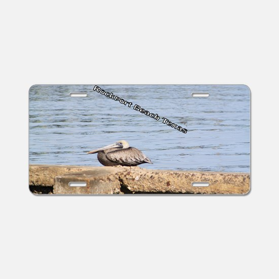The Pelican at Rockport Bea Aluminum License Plate