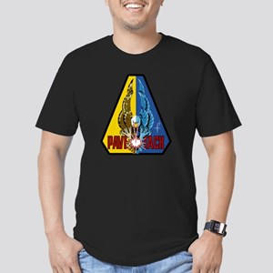 F-111C Pave Tack Men's Fitted T-Shirt (dark)