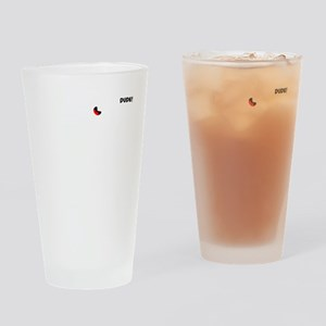 STICKMAN AIR - white image Drinking Glass