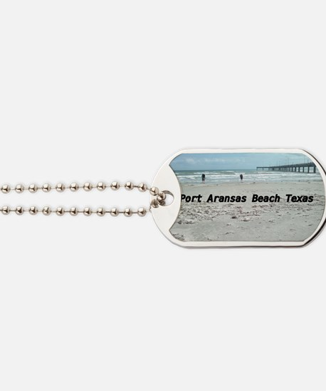 PORT ARANSAS BEACH TEXAS Dog Tags