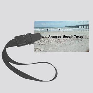 PORT ARANSAS BEACH TEXAS Large Luggage Tag