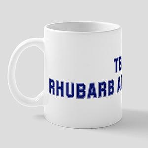 Team RHUBARB AND CUSTARD Mug