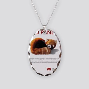 Red Panda Network - Help: Post Necklace Oval Charm