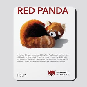 Red Panda Network - Help: Poster Mousepad