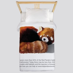 Red Panda Network - Help: Poster Twin Duvet