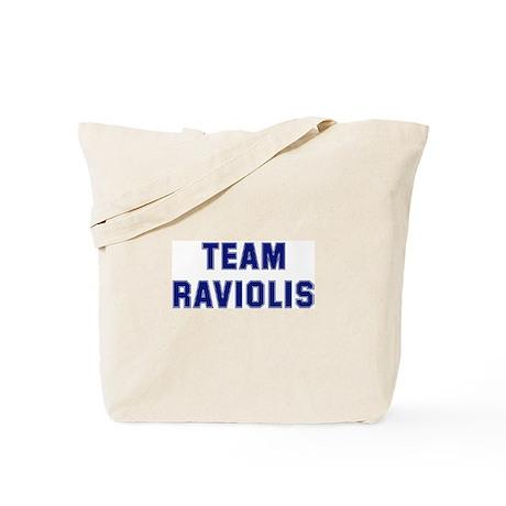 Team RAVIOLIS Tote Bag