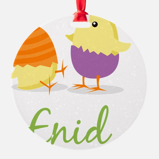Easter Chick Enid Ornament
