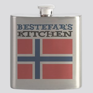 Bestefars Kitchen Apron Flask