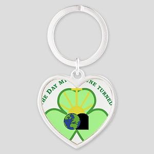 Eternally Charmed Heart Keychain