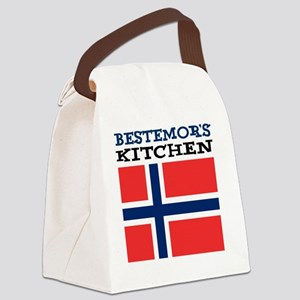 Bestemors Kitchen Apron Canvas Lunch Bag