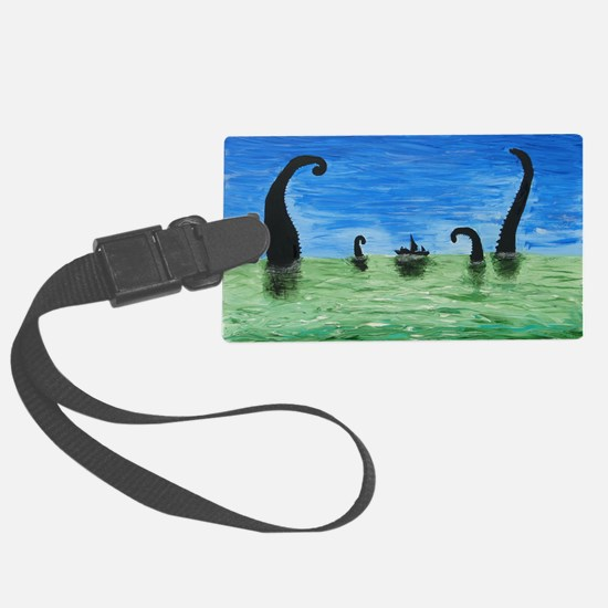 Attack of the Kraken Luggage Tag